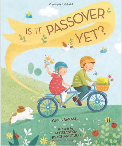 Baker & Taylor Book Is It Passover Yet? Ages 4 - 7