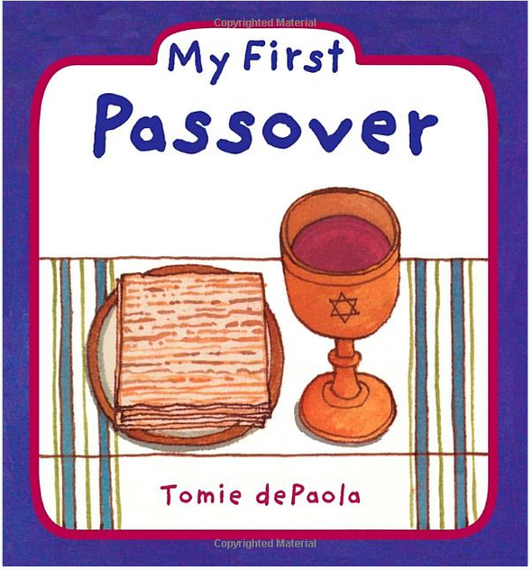 My 1st Passover by Tomie dePaola - ModernTribe