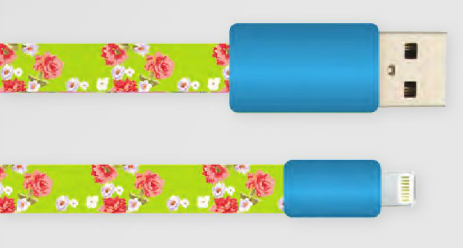 Pretty USB Cables for iPhone 5/6 by Decor Craft - ModernTribe - 1