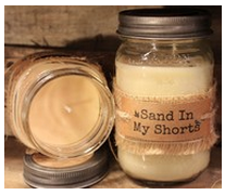 UnCommon Scents Candles Sand in My Shorts Candle 8oz Tin