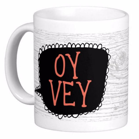 Oy Vey Mug by ModernTribe by ModernTribe - ModernTribe - 1
