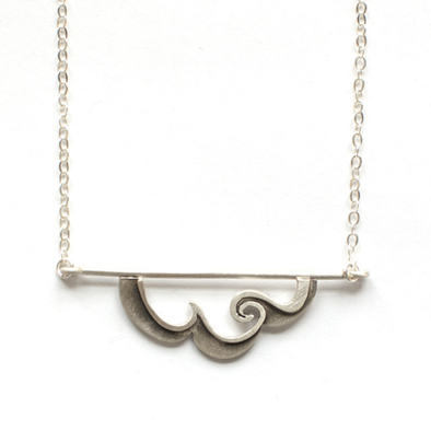 Cloud Horizon Necklace by Emily Rosenfeld by Emily Rosenfeld - ModernTribe