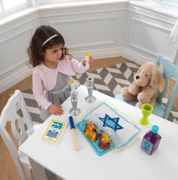 Kid Kraft Wooden Toy Default My Own Shabbat Set with Challah - Ages 3+