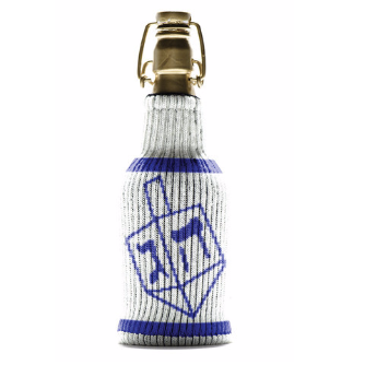 Dr. Dreidel Knit Koozie by Freakers