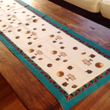 Vintage Coin Hanukkah Table Runner