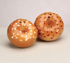 Bagel Salt & Pepper Shakers