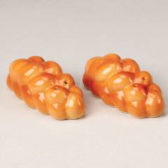 Challah Salt & Pepper Shakers