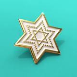 Star of David Pin