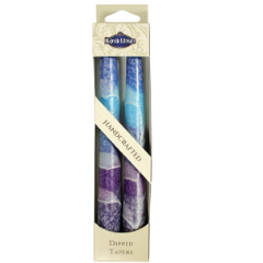 "Fantasy Taper Candles - 7.5"" - Blue"