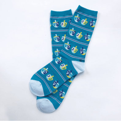 Dreidel Socks, Adult