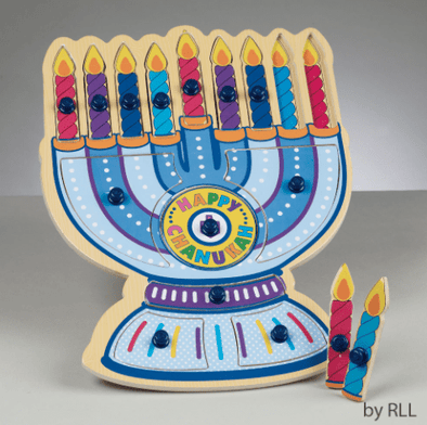 Menorah Wood Puzzle