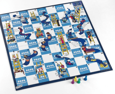 Climb and Slide Hanukkah Game
