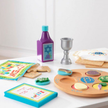 Kid Kraft Wooden Toy Default My Own Passover Seder Set with Matzah - Ages 3+
