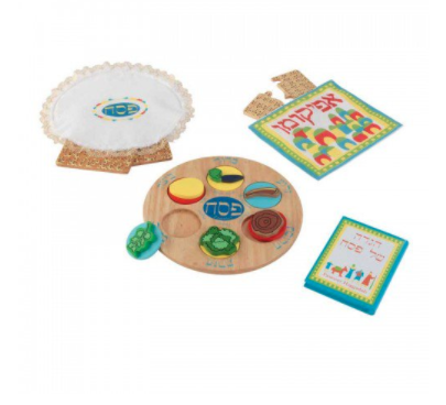 My Own Passover Seder Set with Matzah - Ages 3+