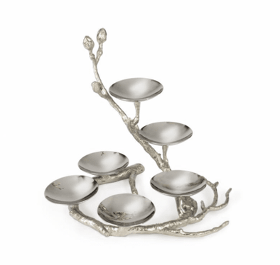 Branch to Freedom Seder Plate - Silver