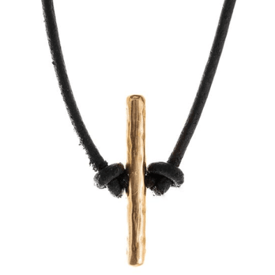Bronze Toggle Necklace by Marla Studio