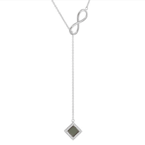 Infinity Nano-Chip Necklace