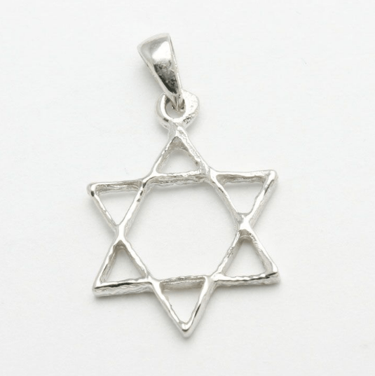 Bareket Jewelry Necklaces 14k White Gold Star of David Pendant