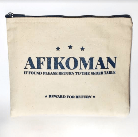 Canvas Afikomen Bag
