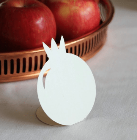 Pomegranate  Place Cards - Set of 10 - ModernTribe