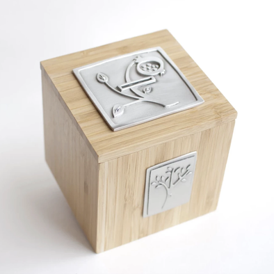 Pomegranate Tzedakah Box by Emily Rosenfeld