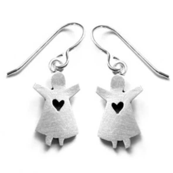 Sterling Silver Whimsical Earrings - (Choose Your Design)