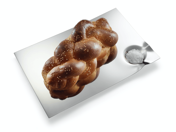 The Moon Challah Tray by Laura Cowan