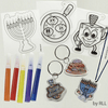 Chanukah Shrink Art, Makes 6 Assorted Designs