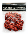High Holiday Pomegranate Scrunchie