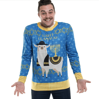 Happy Llamakah T-Shirt/Sweater - Unisex - ModernTribe