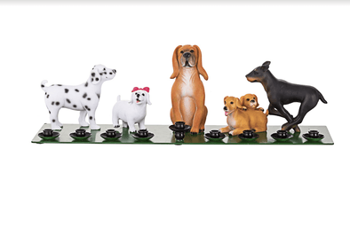Bark Avenue Pups Menorah