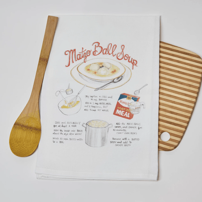 Matzo Ball Soup Recipe Kitchen Towel - ModernTribe