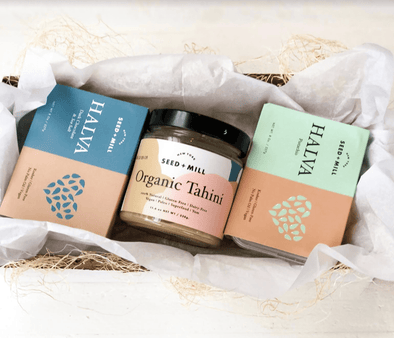 Seed + Mill Holiday Halva and Tahini Gift Box