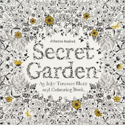 Hachette Book Group Book Secret Garden: An Inky Treasure Hunt and Coloring Book by Johanna Basford