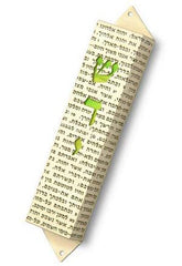 Mezuzah Shadai by Shirley Lev - ModernTribe