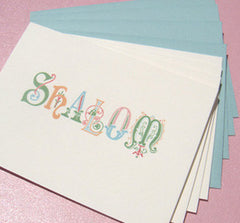 Shalom Ornate Note Cards by Other - ModernTribe