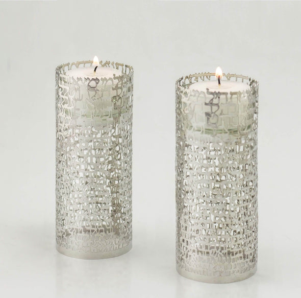 Woman of Valor Candleholders - White Gold - ModernTribe