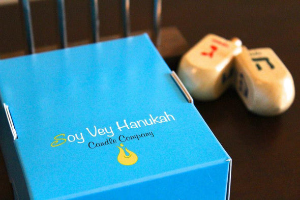Soy Vey Eco-Friendly Hanukkah Candles