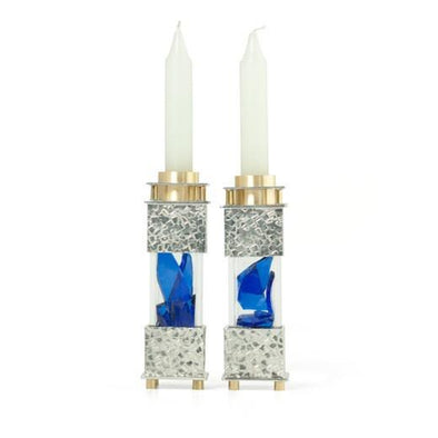Square Wedding Shard Candleholders by Joy Stember by Joy Stember - ModernTribe - 1