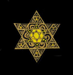 Filigree Paper Cut Star of David Art by Susan Moffitt - ModernTribe