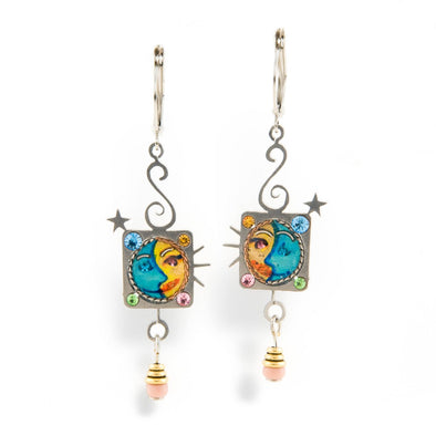 Seeka Sun-Moon Earrings by Seeka - ModernTribe