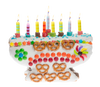 Sweet Menorah Gingerbread Kit
