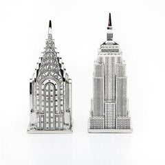 Empire State and Chrysler Building Salt and Pepper Shakers by Other - ModernTribe