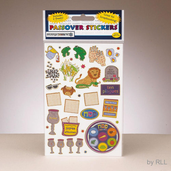 Rite Lite Sticker Passover Stickers Passover Stickers for Kids