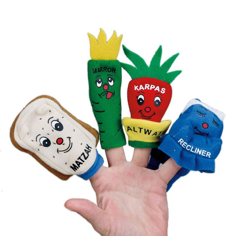 The 4 Questions Finger Puppets - Ages 3+ by Rite Lite - ModernTribe - 1