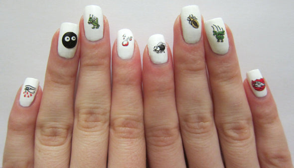 Ten Plagues Nail Decals by Midrash Manicures - ModernTribe - 2