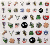 Ten Plagues Nail Decals by Midrash Manicures - ModernTribe - 3