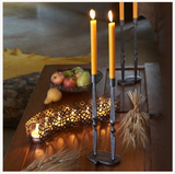 Twisted Iron Shabbat Candlesticks by Ten Thousand Villages - ModernTribe - 2