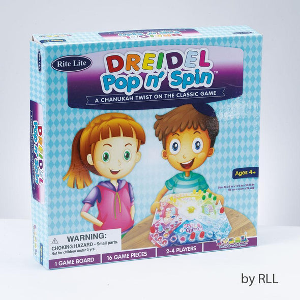 Dreidel Pop 'n Spin Game