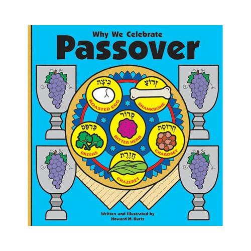 Pigment & Hue Book Default Why We Celebrate Passover Book - Ages 3-7